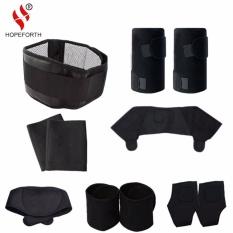 Spesifikasi 11 Pcs Set Tourmaline Self Heating Belt Magnetic Terapi Leher Bahu Postur Pengoreksi Dukungan Lutut Brace Massager Produk Intl