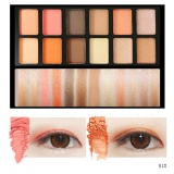 Spek 12 Warna Campuran Pearlescent Matte Eyeshadow Eye Shadow Make Up Textured Palette Intl