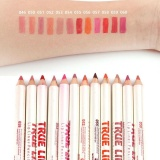 12 Warna Waterproof Matte Tahan Lama Garis Bibir Lipstik Pen Set Intl Original