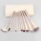 Harga 12 Pcs Cosmetics Set Best Makeup Brushes Kabuki Brush Cheap Make Up Foundation Brush Eyeshadow Eye Natural Makeup Face Brush Intl Lengkap