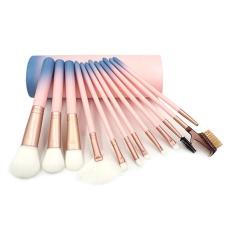 Diskon 12 Pcs Kuas Makeup Tool Set Powder Foundation Blush Contour Bibir Alis Bayangan Concealer Kuas Kosmetik Alat Kecantikan Intl Akhir Tahun