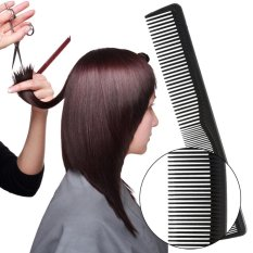 Diskon 12Pcs Combs Hairdressing Styling Hair Cutting Barber Stylist Tools Set Black Intl Oem Di Tiongkok