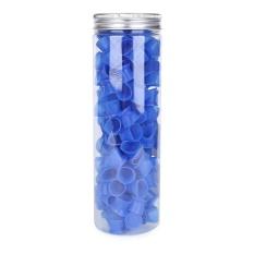Harga 130 Pcs Box Warna Biru Silikon Tato Tinta Cangkir Dengan Base Pigmen Cap Ukuran L Intl Branded