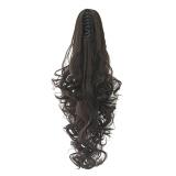 Harga 15 Warna Panjang Curly Claw Clip Wig Drawstring Ponytail Rambut Ekstensi Pirang Hairpiece 5 Intl Seken