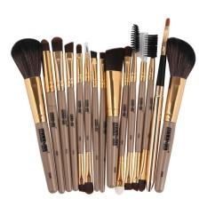 Harga 15 Pcs Make Up Alis Mata Alis Eyeliner Blush Brushes Kosmetik Brushes Bk Intl Original