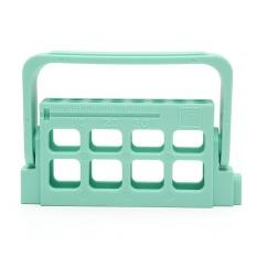 16 Lubang Gigi Memperluas Bur Blok Stand Holder Autoclave Disinfeksi Kotak Case-Intl