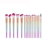 Spesifikasi 16 Pcs Scrub Bright Makeup Brush Bronze Purple The Light Blue Intl Lengkap Dengan Harga