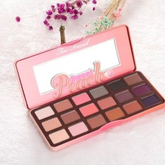 Iklan 18 Colors Women Makeup Beauty Sweet Juicy Peach Eye Shadow Collection Palette Intl