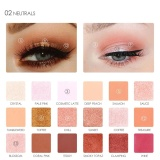 Beli 18 Warna Box Shimmer Eye Shadow Palette Pearlized Warna Mata Makeup Beauty Cosmetic 2 Intl Oem