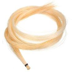 Tips Beli 1 Pc 32 Inch Hank Mongolia Biola Viola Selo Rambut Horsehair Putih Yang Bagus