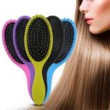Cara Beli 1 Pc Detangling Basah Kering Sikat Rambut Pijat Sisir Hairdressing Brush Hair Styling Tool Ungu Intl