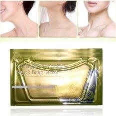 1X Emas Kolagen Leher Masker Kerut Pelembab Whitening Makeup Kecantikan-Intl
