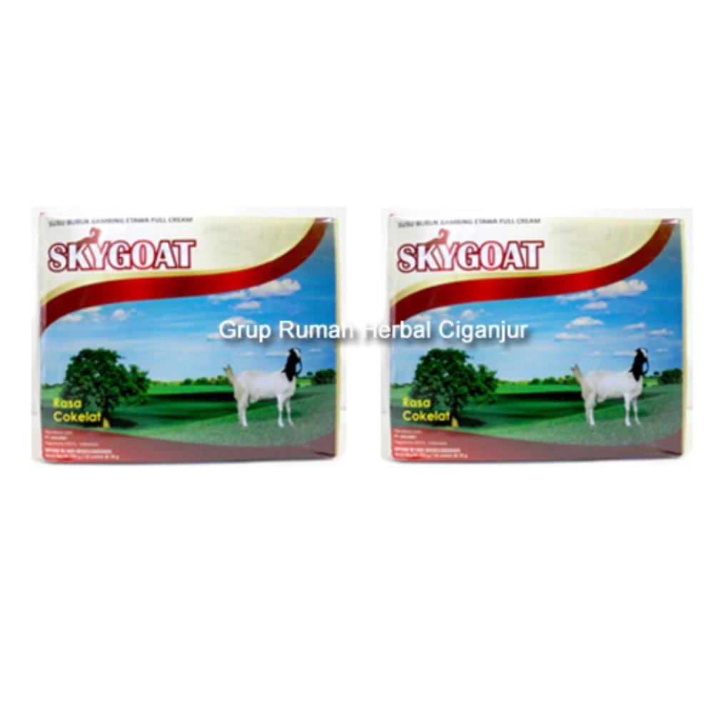 ... Pencari Harga 2 Bok Susu Kambing Etawa Sky Goat Rasa Coklat 1 bok isi 10 saset