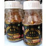 2 Botol Habbatussauda Extra Propolis Trigona 1 Botol Isi 200 Kapsul Terbaru