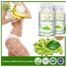 Obral 2 Botol Hendel Exitox Green Coffee Bean Extract 500Mg Diet Sehat Kopi Hijau Original Murah