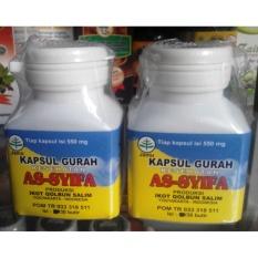 Jual 2 Botol Kapsul Gurah Kesehatan Asyifa 30 Kapsul Gurah Suara Di Indonesia