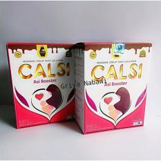 2 box CALSI Asi Booster susu Coklat Gula Aren (meningkatkan asi sampai 900%)