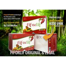 2 Box Fiforlif Original Diet Detox Herbal Alami Peluluh Lemak (Jakarta)