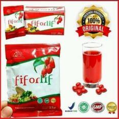 2 Box Fiforlif Original Jakarta Menjaga kesehatan saluran pencernaan & Ampuh Melangsingkan Badan