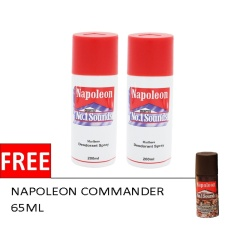 Beli 2 Napoleon Sound No 1 Putih 200 Ml Free Napoleon Commander 65 Ml Online Murah