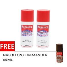 Spesifikasi 2 Napoleon Sound No 1 Putih 200 Ml Free Napoleon Commander 65 Ml Yg Baik