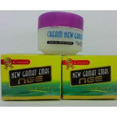2 Pcs Cream Wajah New Gamat Emas NGE Day & Night - BPOM