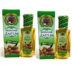 2 Pcs Minyak Zaitun Extra Virgin 30ml - Kemasan Praktis