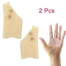 2 Pcs Silicone Magnetic Therapy Gel Wrist Glove Support Untuk Nyeri Tangan Mudah Intl Oem Diskon