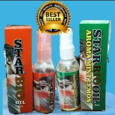 Minyak Herbal Star Bio Oil Spray /Minyak Theraphy Saraf .Persendian .Patah Tulang@1 botol Aroma Cengkeh