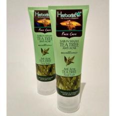 2 x 212shop Herborist Facial Foam Sabun Wajah Tea Tree Anti Acne 80 gram