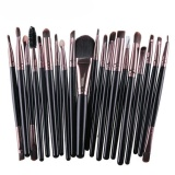 20 Pcs Makeup Brush Set Tools Make Up Toiletry Kit Wool Make Up Brush Set Intl Di Tiongkok