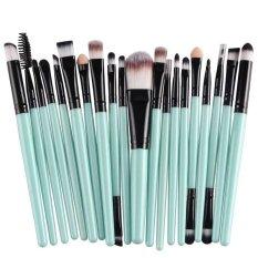Jual 20 Pcs Kuas Kosmetik Make Up Profesional Pegangan Plastik Alis Dasar Perona Bibir Set Kuas Rias Maskara Oem Ori