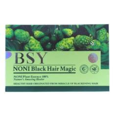 [20sachet] Black Magic Shampoo Bsy Noni Shampoo / Shampo Noni Shampo Keramas Langsung Hitam BestSeller[1 Box] - Hitam