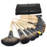Spesifikasi 24 Pcs Professional Makeup Alis Mata Kit Set Kuas Kosmetik Dengan Kantong Hitam Dan Harga