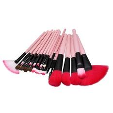 Harga 24 Pcs Profesional Makeup Brush Set Untuk Powder Foundation Blush Sorot Bb Cream Contour Eye Shadow Kosmetik Sikat Intl New