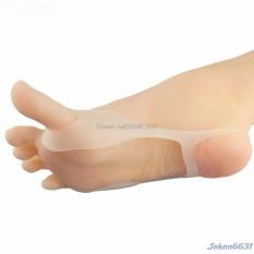 2 Pcs Dapat Digunakan Kembali Bengkak Hallux Valgus Pain Relief Silikon Pengencang Pemisah Jempol Kaki-