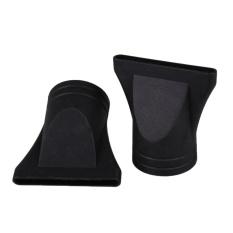 2 Pcs/set Perawatan Rambut PC Salon Hair Styling Hairdressing Wide Hair Dryer Nozzle-Intl