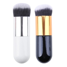 Jual 2 Pcs Set Makeup Brush Foundation Bedak Kontur Concealer Blush Brushes Intl Antik
