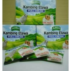 3 bok Susu Kambing Ettawa Full cream AMH Plus Jahe 1 bok isi 10 saset