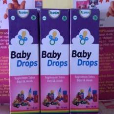 Beli 3 Botol Madu Tasnim Baby Drops Suplelmen Kesehatan Bayi Dan Anak 15 Ml Cicil