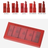 Beli Barang 3 Ce Mood Recipe Lip Color Mini Kit Red Online