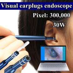 3 In 1 USB Membersihkan Telinga Kamera Mini Endoskop HD LED Lingkup Kotoran Telinga Removal Kit-Intl