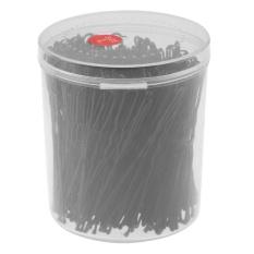 300 Pcs/box U Berbentuk Clamp Hairpin Bride Rambut Alat DIY Styling Hairpins Kit (Hitam)-Intl
