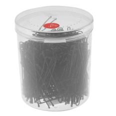 300 Pcs/box U Berbentuk Clamp Hairpin Bride Hair Tool (Black)-S-Intl