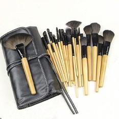 32 PCS Makeup Brush Set - BLUETTEK Professional Make up Cosmetic Eyeshadow Eyebrow Eyelash Eyeliner Lip Powder Blush Face Brush