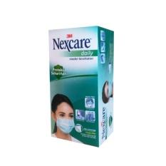 Harga 3M Nexcare Masker Earloop Masker Kesehatan Pelindung Debu 36 Pcs Box Biru Muda Asli 3M Nexcare