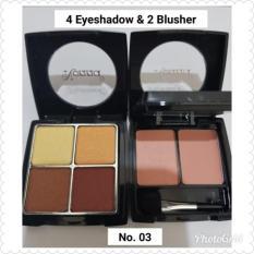 4 EYESHADOW & 2 BLUSHER NONNA 1006 NO. 03 MAKE UP SET