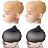 Dapatkan Segera 4 Pcs High Elasticity Soft Breathable Mesh Wig Caps 2 Black 2 Skin Color Intl
