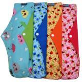 Harga Faaza Store Menspad 4Pcs Jumbo 36Cm Menstrualpad Pembalut Kain Cuci Ulang Wanita Motif Mekar Faaza Online