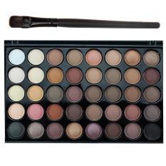 40 Warna Kosmetik Matte Shimmer Profesional Eyeshadow Sorot Palet (Multicolor)